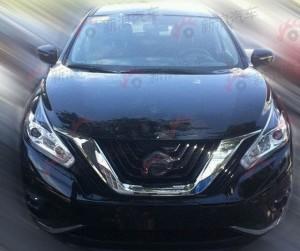 Шпионы сфотографировали новый Nissan Murano