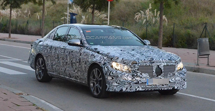 Начались дорожные испытания нового поколения Mercedes-Benz E-Class