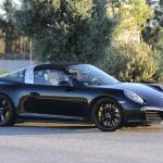 Porsche 911 2016 шпионские фото