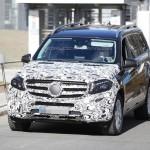 Mercedes-Benz GLS 2016 шпионские фото