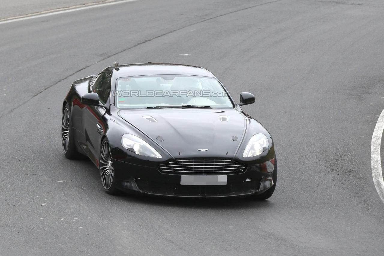 Шпионское фото тест-мула преемника Aston Martin DB9