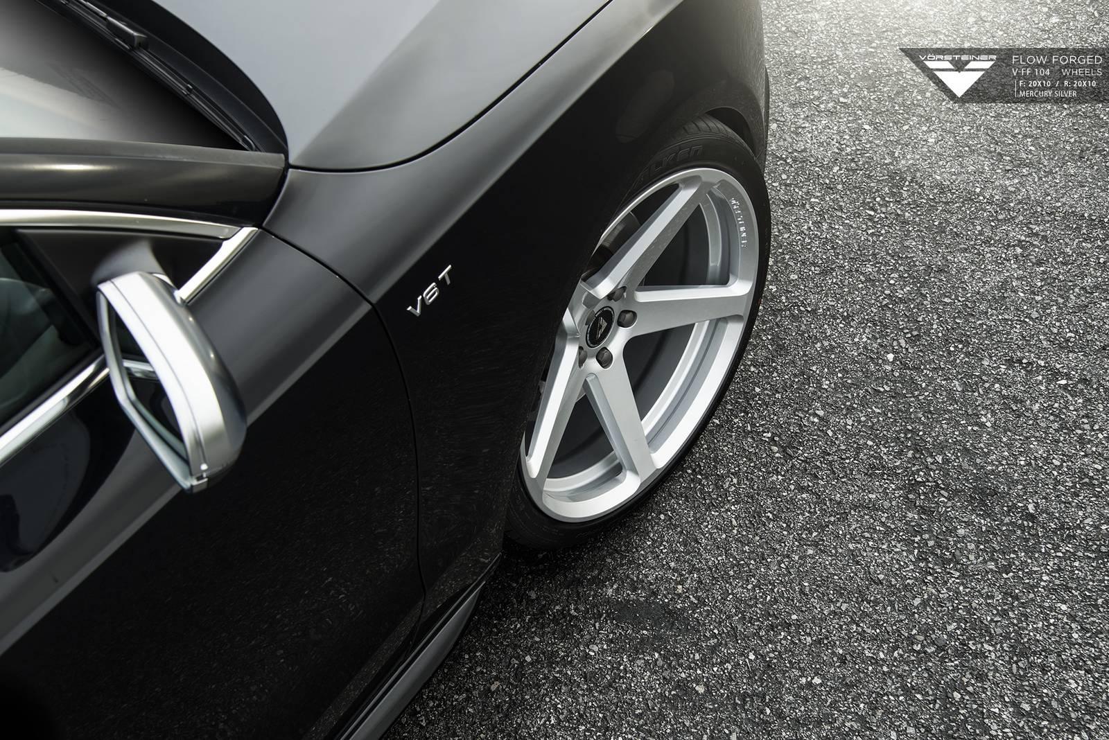 Audi S5 на колесах Vorsteiner V-FF 104