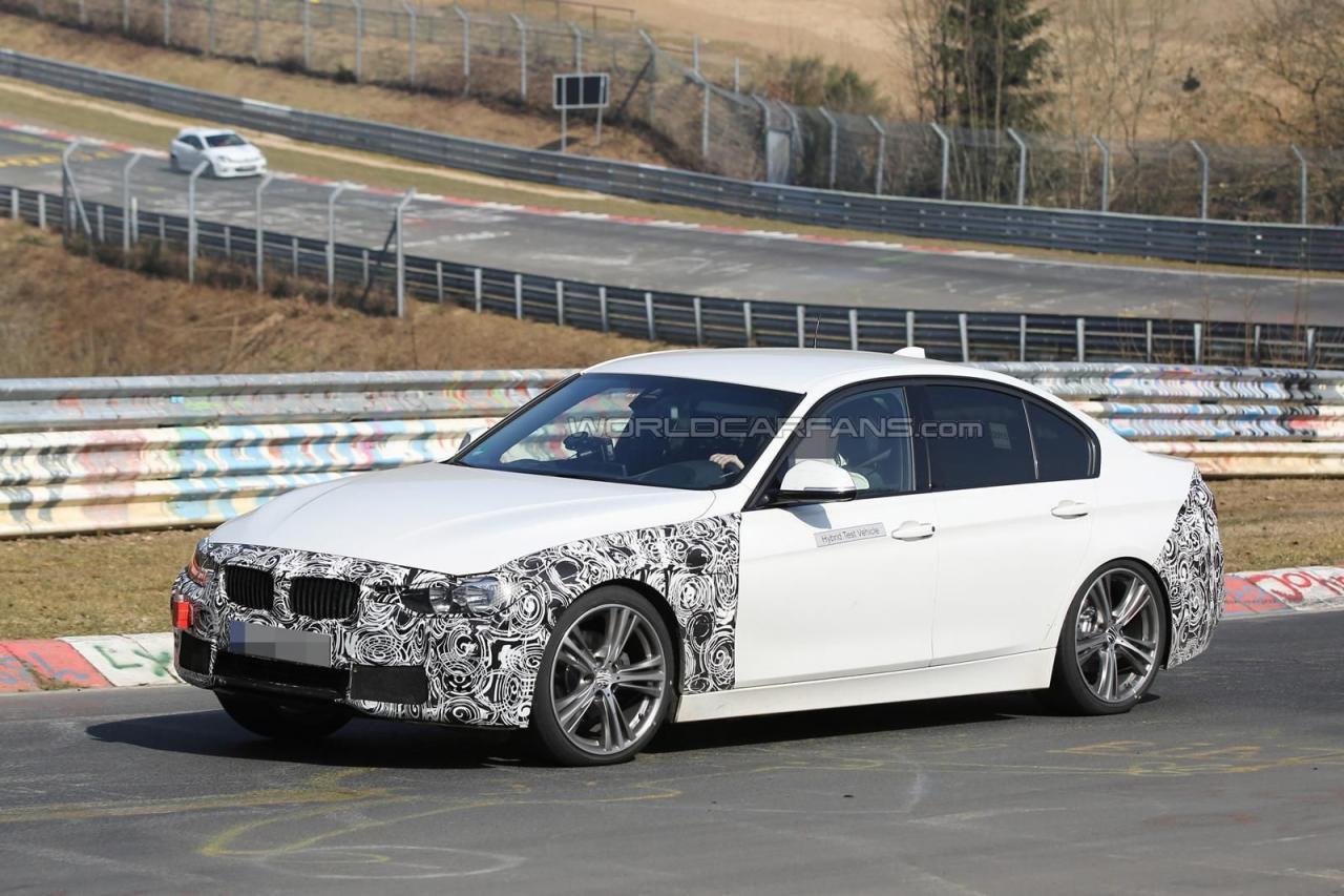 BMW 3-Series 2016 гибрид шпионские фото
