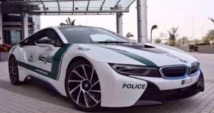 BMW i8 Dubai Police Car