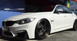 BMW M3 2014 тюнинг колес ADV05 MV1 CS Liquid Smoke