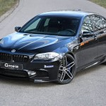 bmw g5m bi-turbo g-power 2015