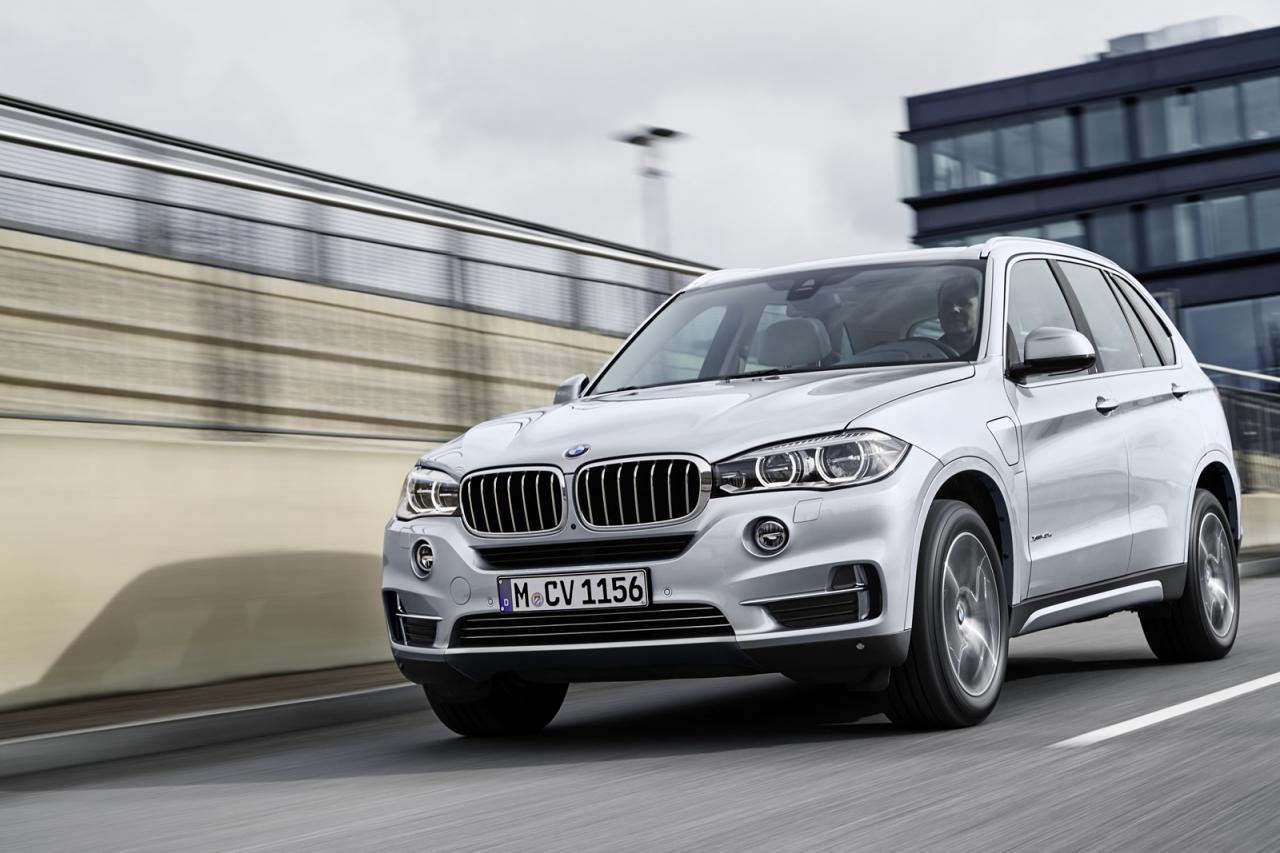 BMW X5 xDrive40e 2015 plug-in hybrid