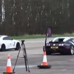 Bugatti Veyron vs Nissan GTR SVM 950R