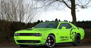 Dodge Challenger SRT Hellcat 2015 от GeigerCars