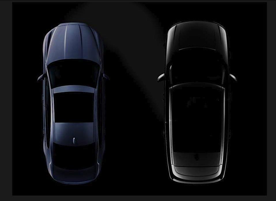 Jaguar XF и супер-роскошный Range Rover тизер