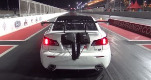 Авария Lexus IS F Twin-Turbo драг-рейс видео