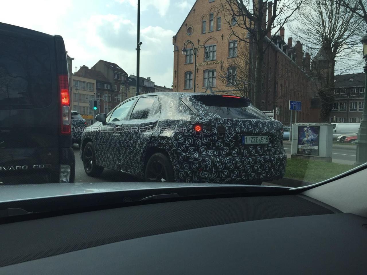 Lexus RX 2016 шпионские фото