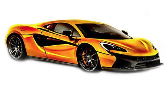 McLaren 570S утечка фото