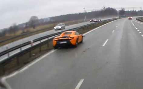 McLaren 650S авария