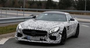 Mercedes-AMG GT3 шпионские фото дорожной версии