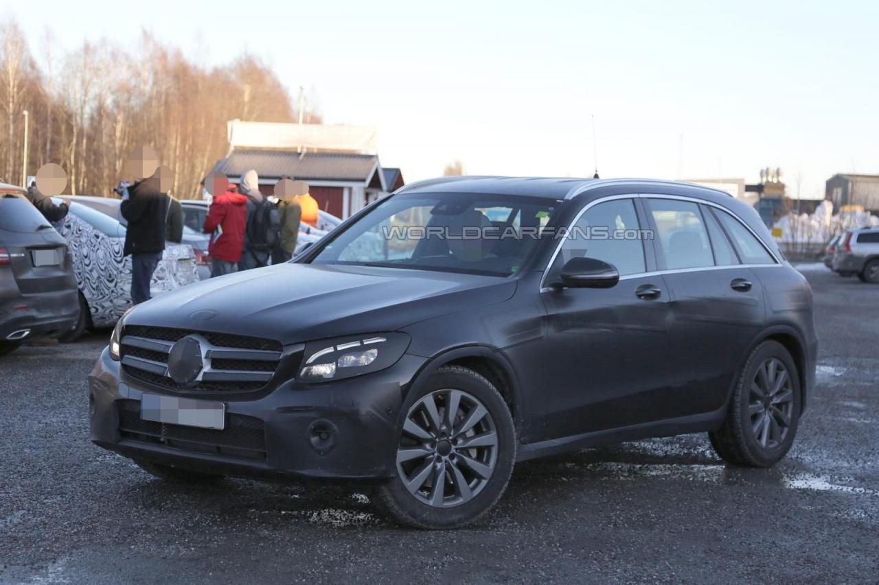 Mercedes-Benz GLC 2016 шпионские фото