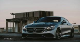 Mercedes-Benz S63 AMG Coupe от Renntech и ADV.1
