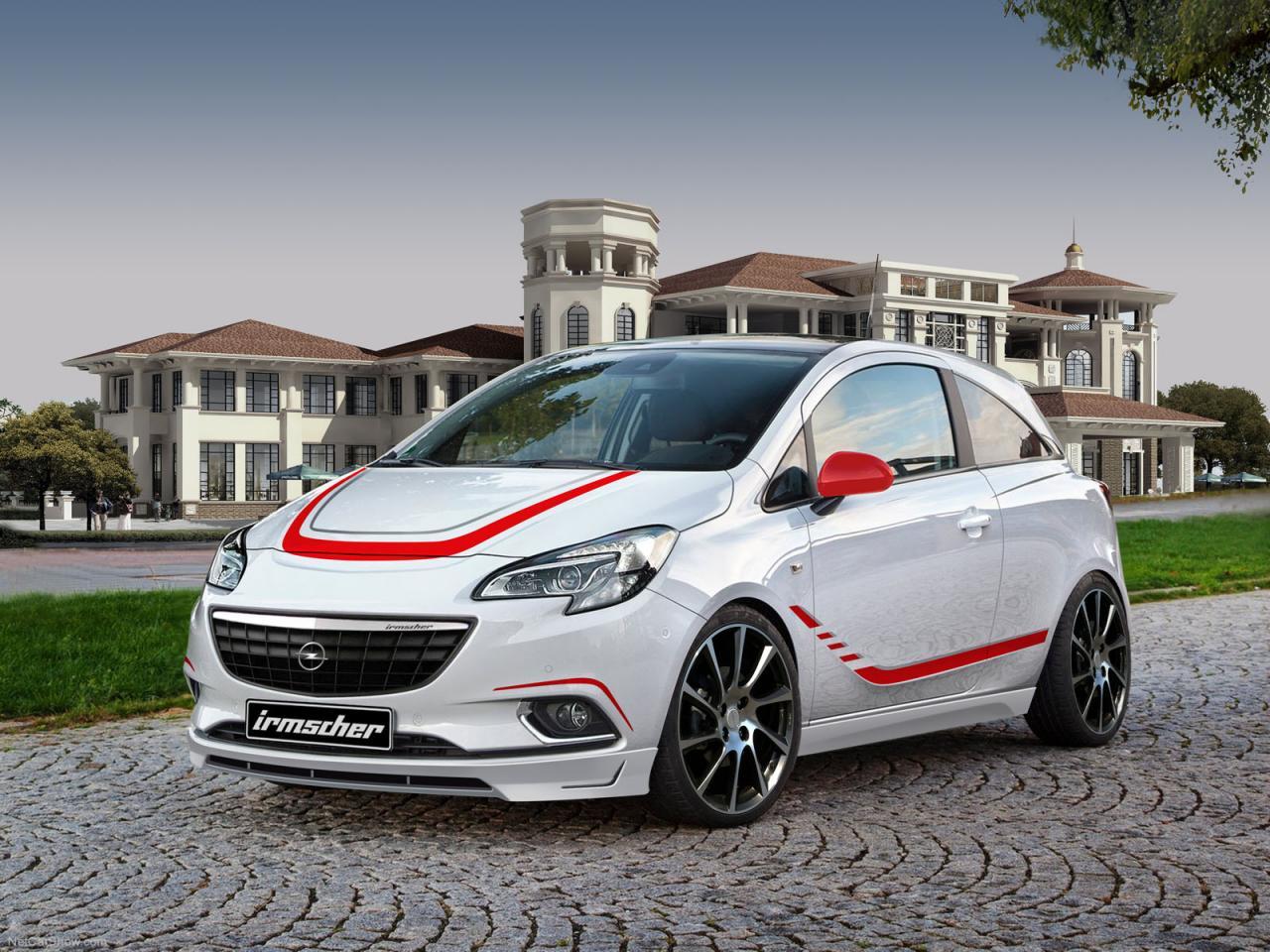 Opel Corsa 2015 тюнинг Irmscher