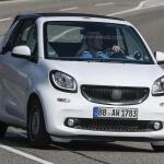 Smart ForTwo 2016 кабриолет шпионские фото