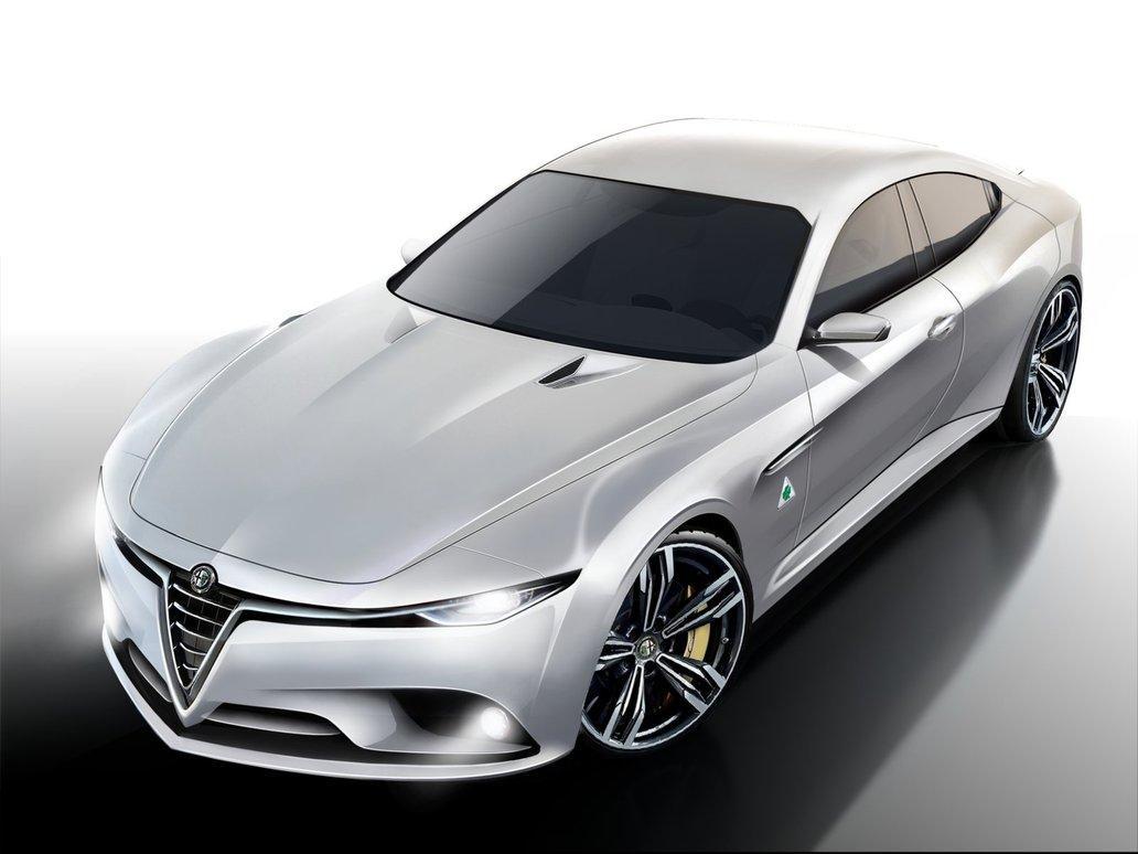 Alfa Romeo Giulia рендер от Thorsten Kirsch