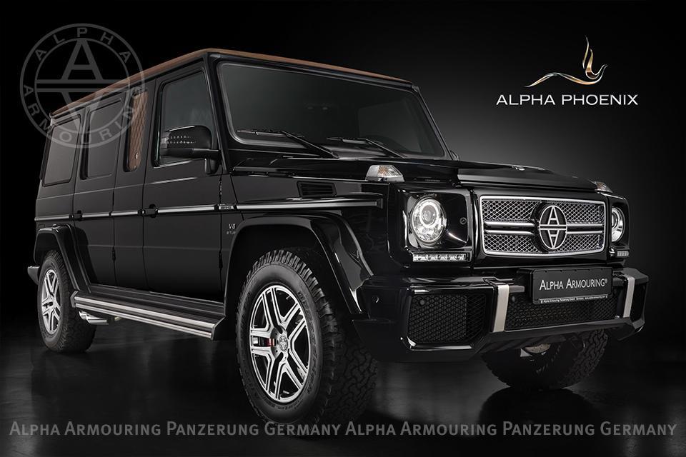 Alpha Phoenix на базе Mercedes G63 AMG