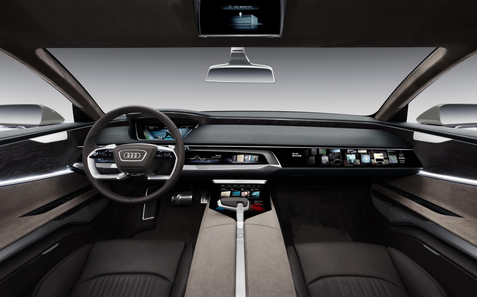 Audi a4 avant 2017: новый интегрированный универсал