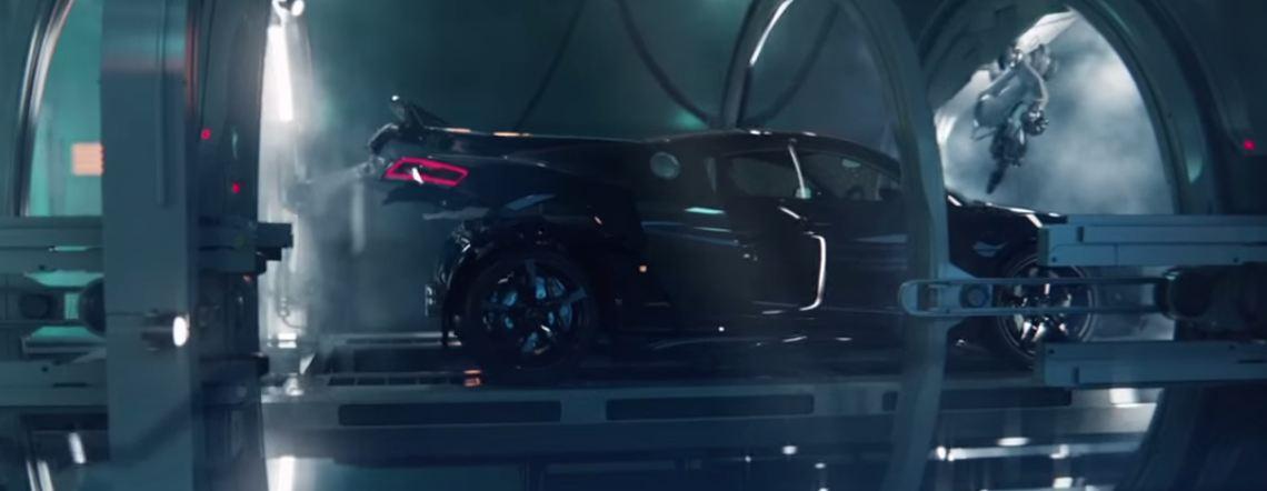 Audi RS3 Sportback birth by R8 V10 promo-video
