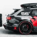 Audi RS6 Avant DTM Джона Олссона