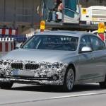 BMW 3-Series 2016 шпионские фото