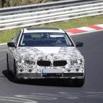 BMW 5-Series 2017 шпионские фото