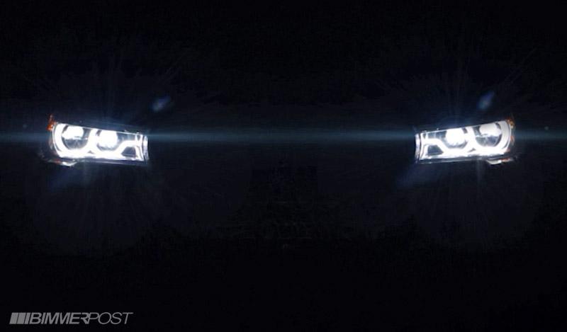 BMW 7-Series 2016 фото с приглашения на закрытую презентацию модели
