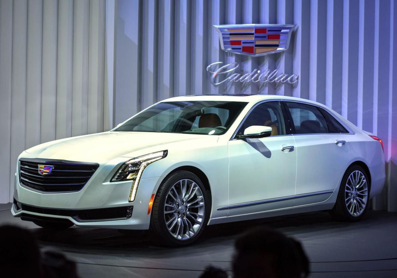 Cadillac CT6 в Нью-Йорке 2015