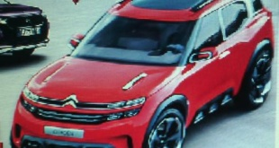 "Citroen Aircross концепт картинка-""утечка"""