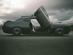 Dodge Vapor тюнинг на базе Challenger Hellcat