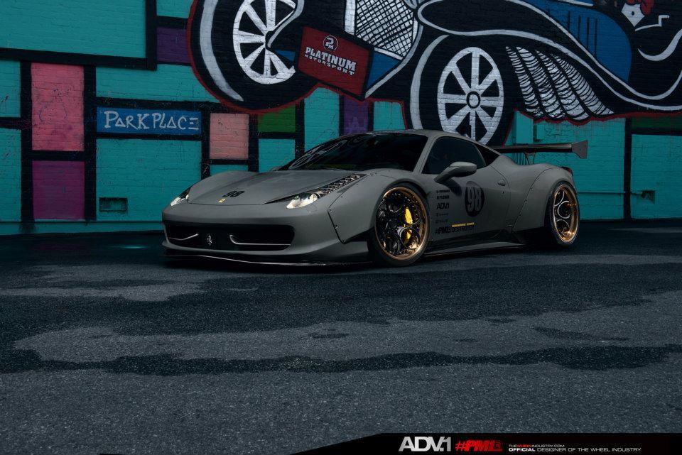 Ferrari 458 Italia Liberty Walk