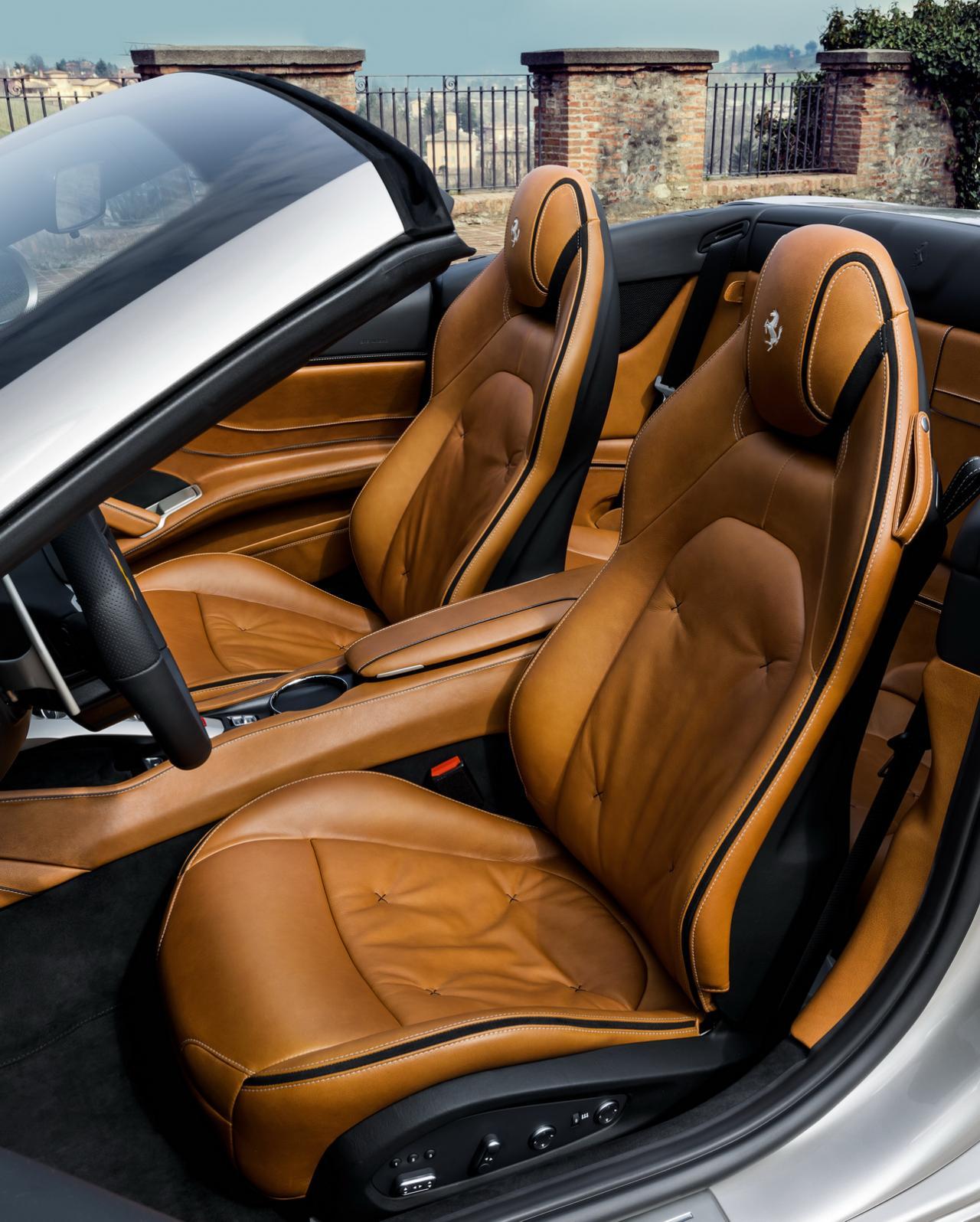 Уникальная Ferrari California T выполненная по программе Tailor Made