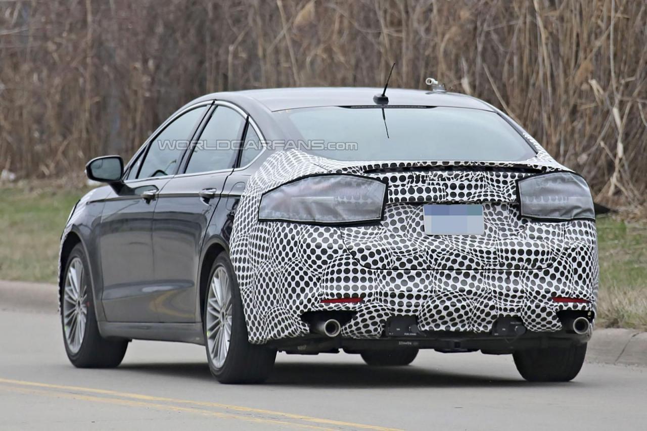 Ford Fusion|Mondeo 2017 шпионские фото