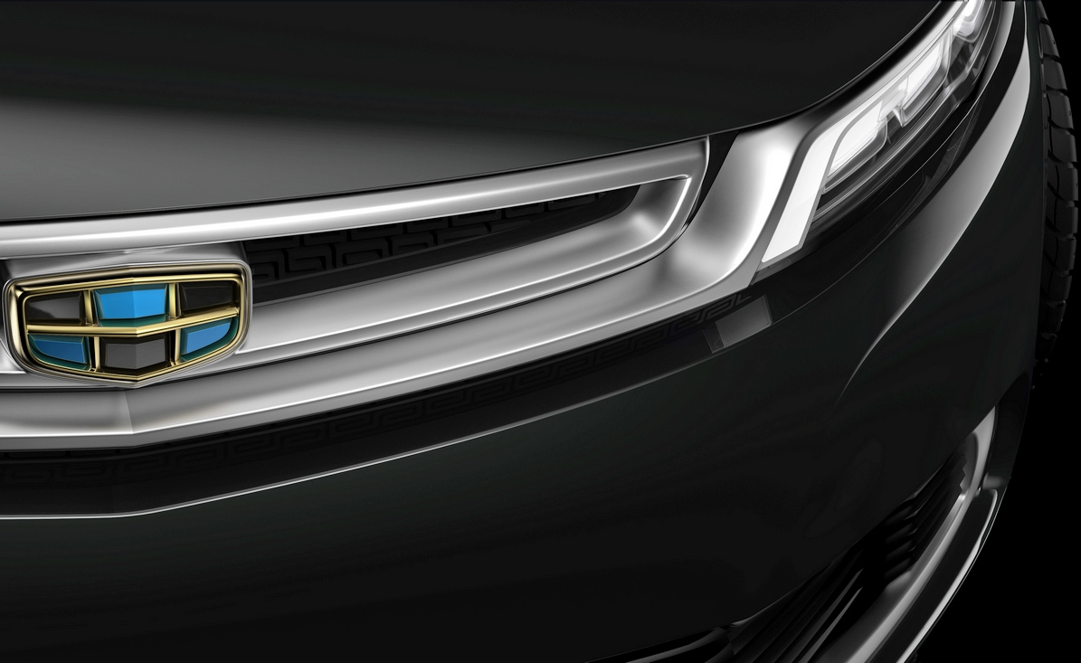 Geely Emgrand Concept тизер