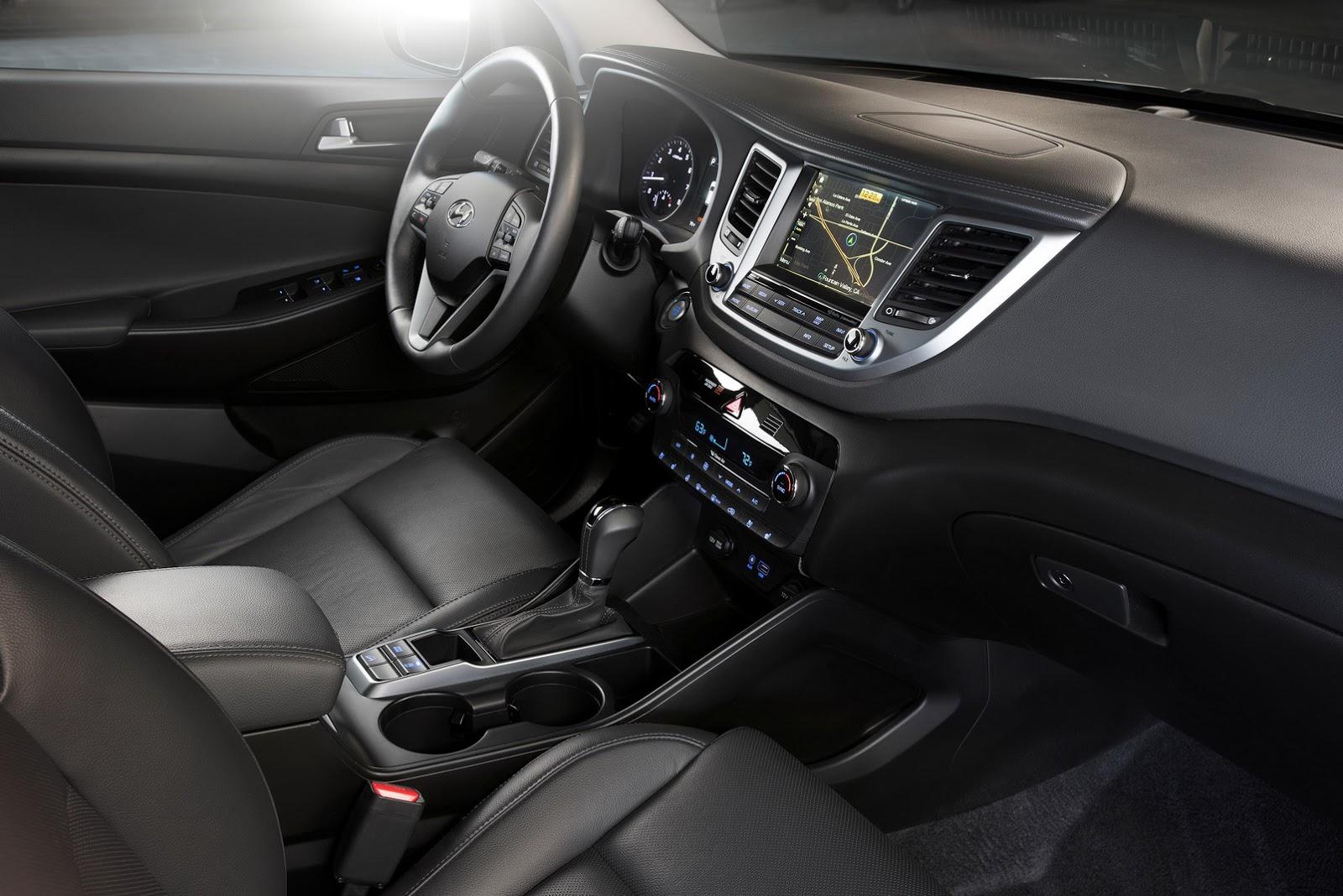 Hyundai Tucson 2016 версия для США