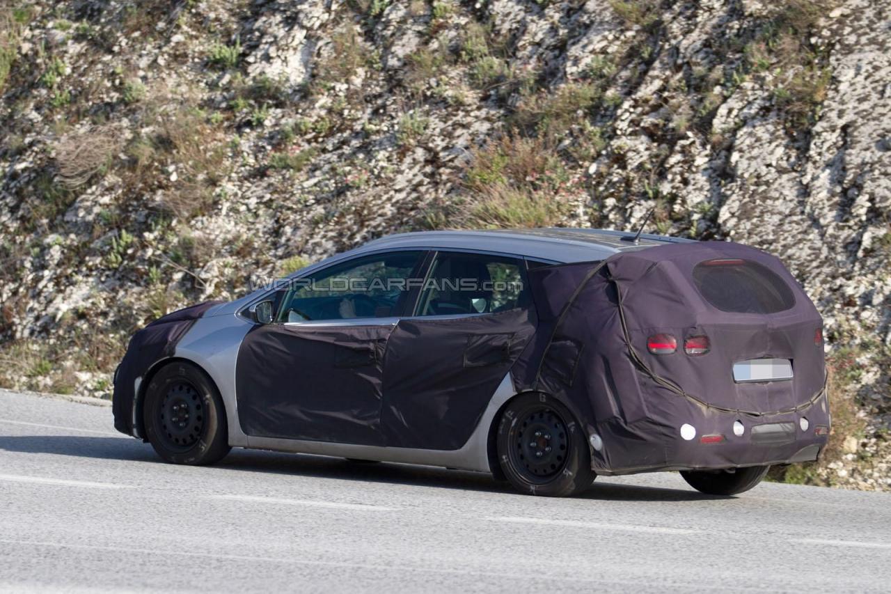 Kia Cee'd Sportswagon 2016 шпионские фото