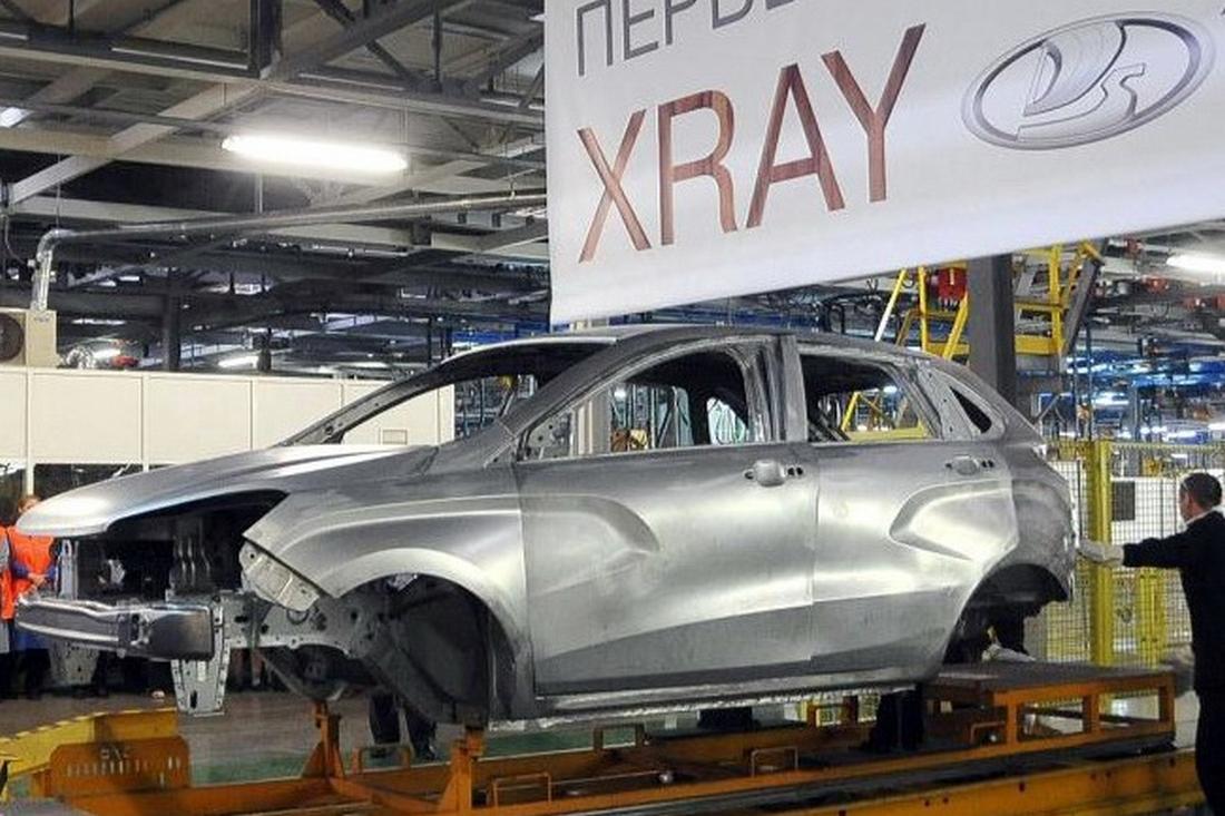 Lada XRAY первый кузов