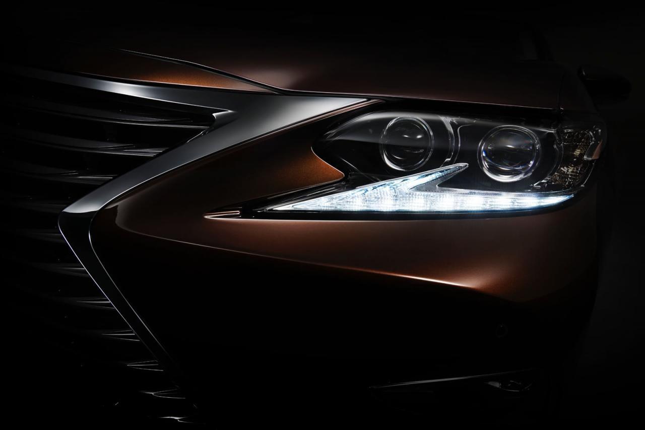 Lexus ES 2016 тизер