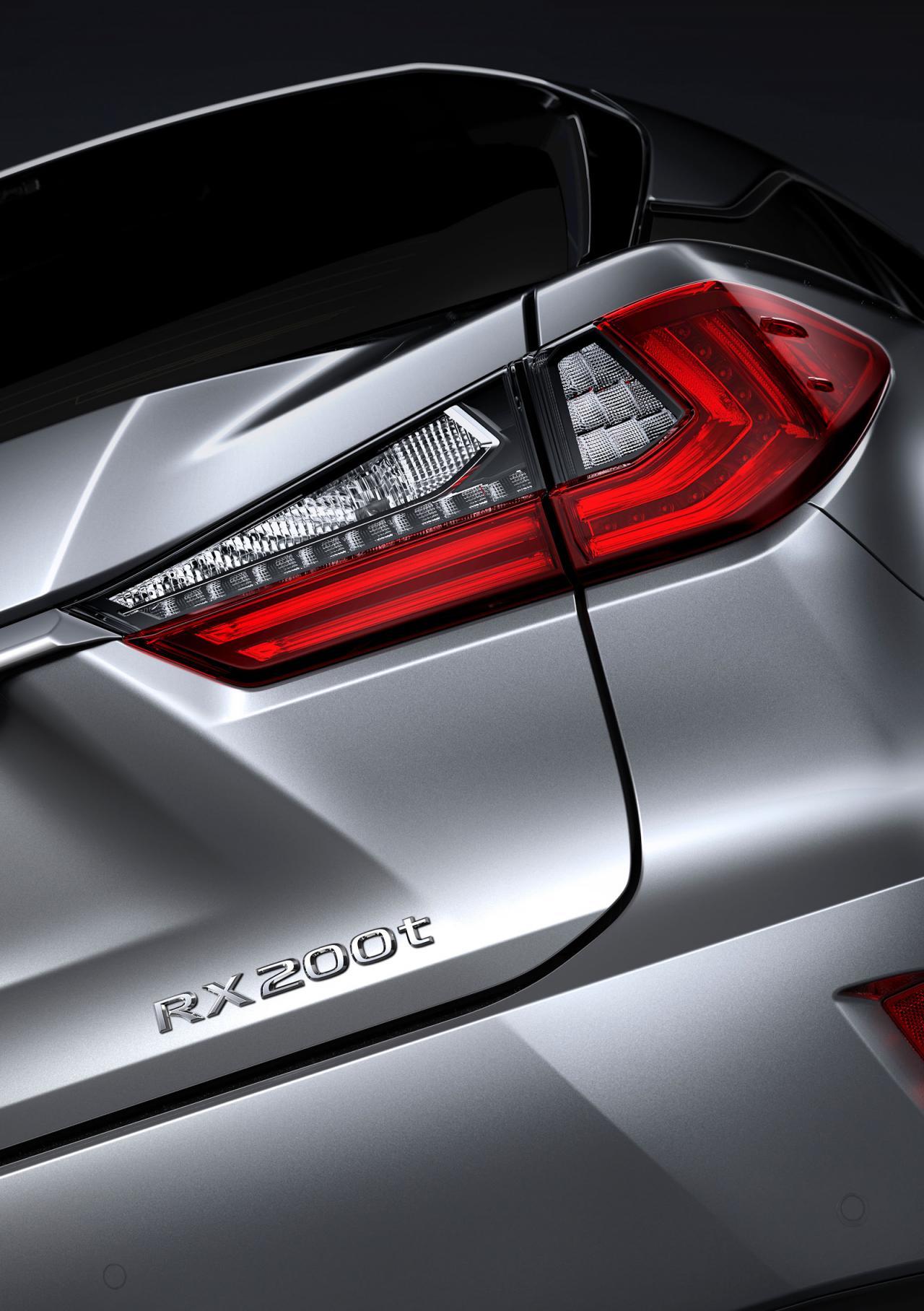 Lexus RX 200t F SPORT 2016