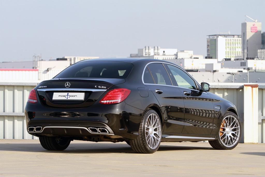 Mercedes-AMG C63 S тюнинг POSAIDON