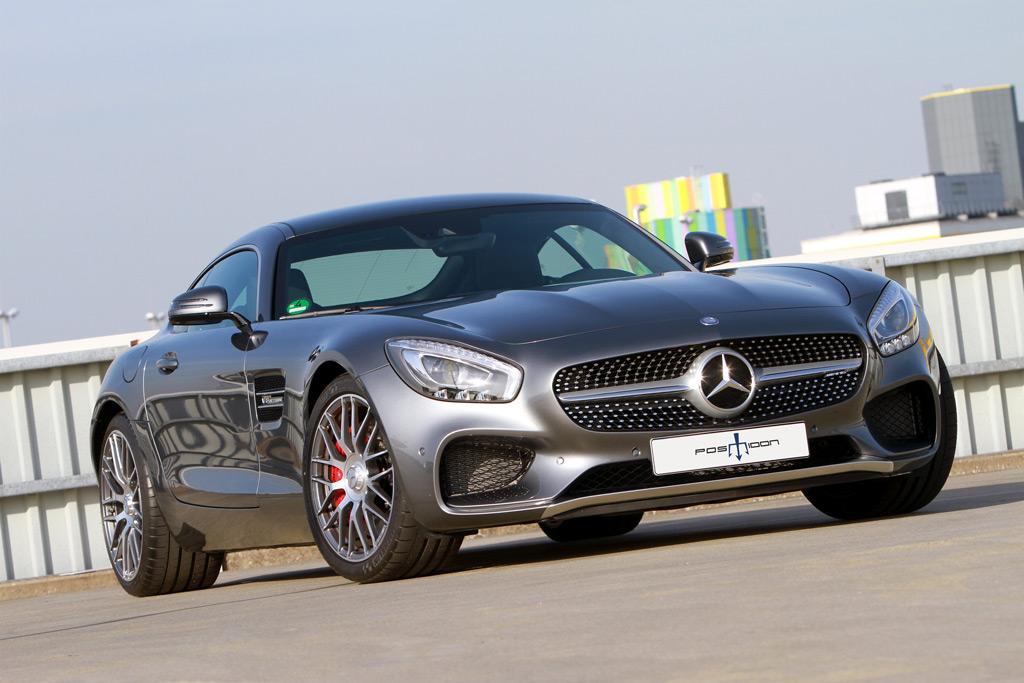 Mercedes-AMG GT S тюнинг POSAIDON