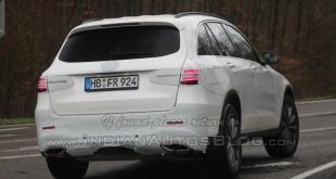 Mercedes GLC 2016 шпионское фото