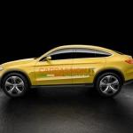 Mercedes-Benz GLC Coupe первые фото