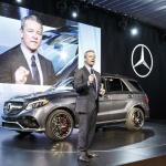 Mercedes-Benz GLE 2016 дебют в Нью-Йорке