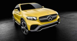Mercedes-Benz GLC Coupe предсерийный прототип