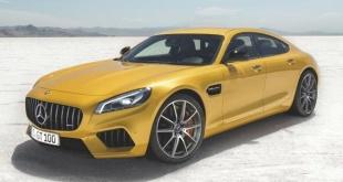Mercedes-Benz GT4 неофициальный рендер